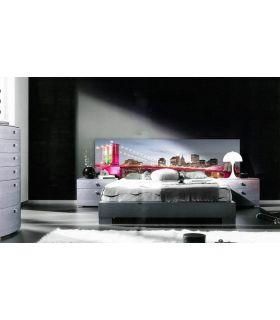 Acheter en ligne Têtes de lit rétroéclairés: modèle BROOKLYN NIGHT.