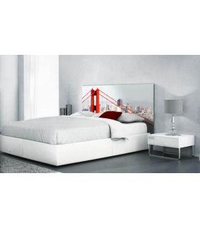 Acheter en ligne Têtes de lit rétroéclairés: modèle GOLDEN GATE.