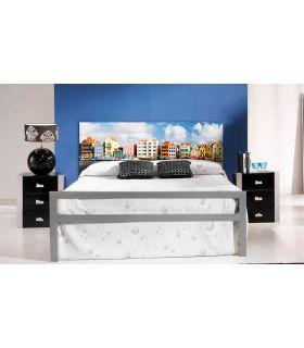 Acheter en ligne Têtes de lit rétroéclairés: modèle LES PAYS-BAS.
