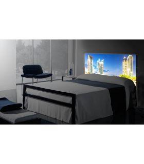 Acheter en ligne Têtes de lit rétroéclairés: modèle DUBAI.
