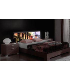 Acheter en ligne Têtes de lit rétroéclairés: modèle PICADILLY.