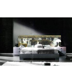 Acheter en ligne Têtes de lit rétroéclairés: modèle IGUAZU.