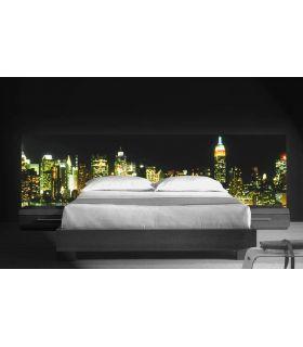 Acheter en ligne Têtes de lit rétroéclairés: modèle BAIE NY.