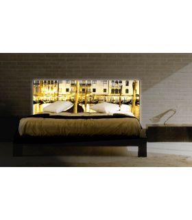 Acheter en ligne Têtes de lit rétroéclairés: modèle GONDOLES.