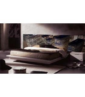 Acheter en ligne Têtes de lit rétroéclairés: modèle GRATTE-CIEL.