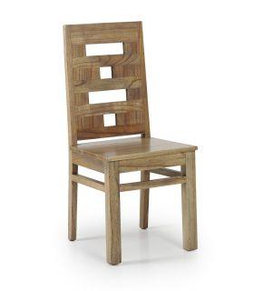 Acheter en ligne Chaise en bois : Collection MERAPI