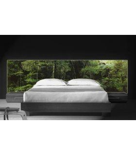 Acheter en ligne Têtes de lit rétroéclairés: modèle FORÊT TROPICALE.