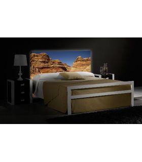 Acheter en ligne Têtes de lit rétroéclairés: modèle THE WAVE.