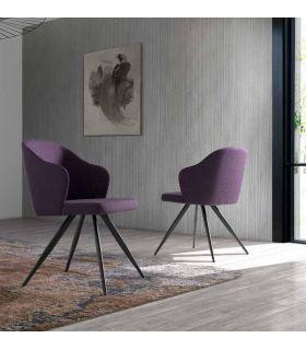 Acheter en ligne Chaise moderne revêtue : Modèle FREIA