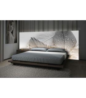 Acheter en ligne Têtes de lit rétroéclairés : modèle ROCIO.