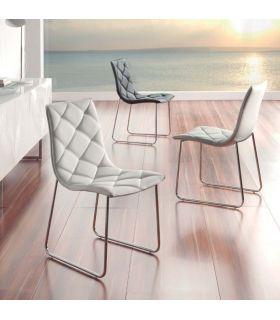 Acheter en ligne Chaises Revêtues au Design Moderne : Modèle SOMMEILS