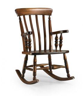 Acheter en ligne Rocking-chair en acajou : Collection ANTONIETA Honey