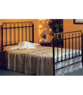Acheter en ligne Lits et têtes de lit en laiton et fer forgé: modèle PIERRY.