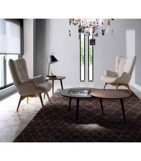 Acheter en ligne Fauteuil tapissier en bois : Modèle TIRSO